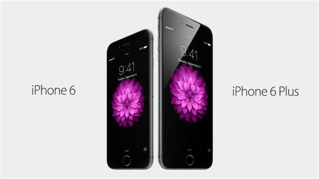 iPhone 6 和 iPhone 6 Plus